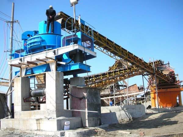 西安河砂石制砂生产线