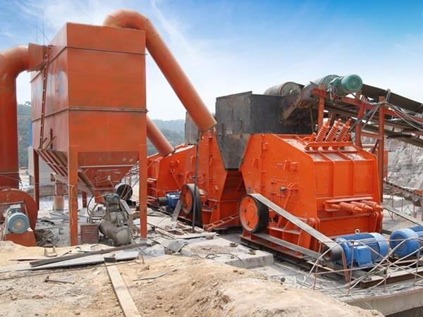 鞍山锰矿石破碎生产线