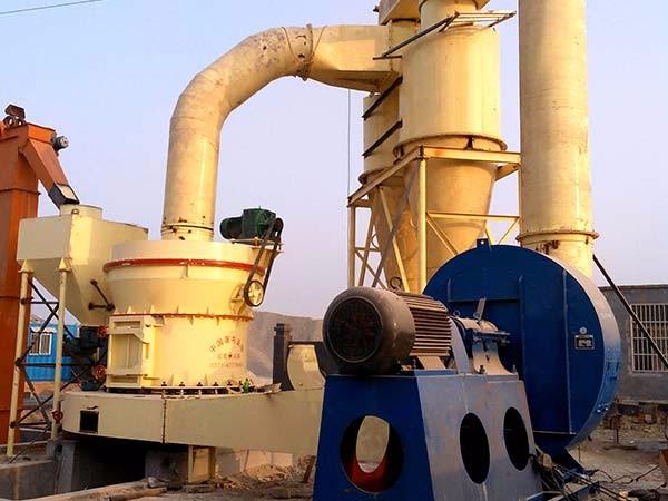 绍兴石灰石磨粉生产线