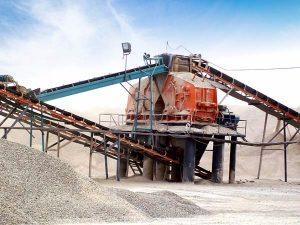 时产500吨的制砂生产线